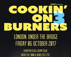 Cookin on 3 Burners return to London