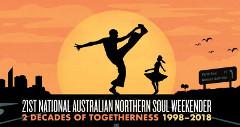 The 21st National Australian Soul Weekender 2018