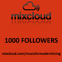 1000 Followers on Mixcloud