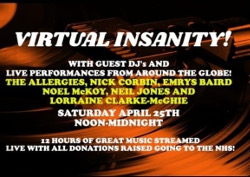Virtual Insanity - Funk and Soul Virtual Alldayer for the NHS